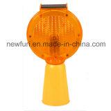 Prezzo di fabbrica solare dell'indicatore luminoso della barriera del lampeggiatore ambrato LED