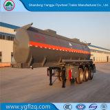 Het Hydroxyde van het Natrium van de vervaardiging/de Semi Aanhangwagen van de Tanker van het Vervoer van NaOH