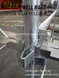 Kwikstage быстрый этап K с сооружением система оцинкованный стандартные/вертикальной стойке