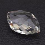 Navette Form-Kristallsteine mit Löchern für Leuchter-Teile