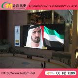 L'intérieur de la publicité pleine couleur écran à affichage LED de bord (P4 LED Video Wall)