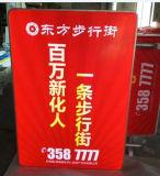 Promotion extérieure annonçant le cadre léger de signe de DEL pour la barre