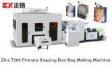 Saco não tecido laminado da caixa da tela que faz a máquina (ZX-LT500)