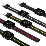 2017個の新しい情報処理機能をもった腕時計、携帯用腕時計のタッチ画面の携帯電話の腕時計