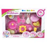 Fingere il giocattolo educativo della cucina della cucina impostato per i capretti