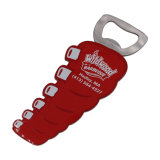 Apri di bottiglia di seta personalizzato ricordo di stampa di marchio del regalo