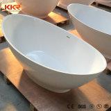 自由で永続的な固体表面の石造りの樹脂の軸受けの浴室の浴槽