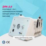 O uso do SPA Portable Hydra Dermoabrasão Máquina Facial de oxigénio