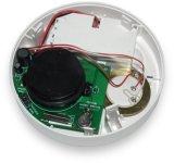 Detectores sin hilos del humo y de incendios para la alarma de incendio con la indicación del LED