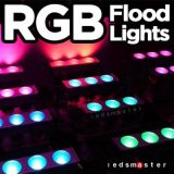 120watt RGB 플러드 빛 수중 수족관 빛