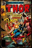Banda Desenhada e Animação Thor sinal de estanho metálico para parede