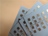 PCB van de hoge die Frequentie op 0.254mm RO4350b met het Goud van de Onderdompeling wordt voortgebouwd