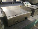 Machine commerciale barbecue plancha électrique en acier inoxydable