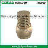 Soupape d'aspiration en laiton d'ouvrier chargé des pompes de qualité (AV50006A)