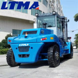 Ltma carretilla elevadora diesel de 16 toneladas con la fuerza impulsora de gran alcance