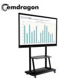 床スクリーン1080P LED移動式デジタルの表記を広告する永続的なビデオ広告プレーヤー43のインチ屋外LED