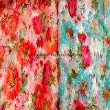 Stof de van uitstekende kwaliteit van Organza van de Polyester van Af:drukken voor de Kleding van de Manier