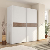 Personnaliser Cheap armoire coulissante simple moderne MDF (SZ-PDEO01)