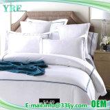 Deluxe de seda bordado personalizado de ropa de cama Ropa de cama costera