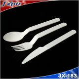 Cuillère de plastique de la bonne qualité Jx182