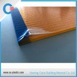 Strato doppio arancione di Sun del policarbonato dello strato 6mm 8mm della cavità del policarbonato