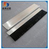 Filament de nylon canal porte d'étanchéité métallique brossette