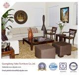 Handelshotel-Möbel mit dem Wohnzimmer-Sofa eingestellt (YB-W02)