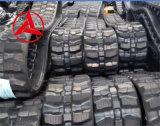 Catena di gomma della pista per l'escavatore idraulico