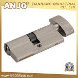 Latón del perfil/cilindro euro 2 del bloqueo de cilindro del cinc/del bloqueo de puerta