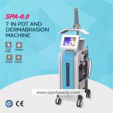 5 dans 1 peau toute-puissante injectent la machine de massage facial de gicleur de l'oxygène