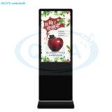 42 Zoll-Fußboden-stehender Anzeigen-Spieler mit Touch Screen