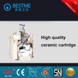 304 Tapkraan van de Waren van het Bad van het roestvrij staal de Sanitaire met Ceramische Patroon (bms-B1005)