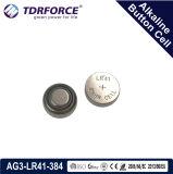Do volume livre da fábrica de Mercury&Cadmium pilha alcalina da tecla China para o relógio (1.5V AG8/LR1121/391)