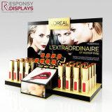 Pop acrylique brillant cosmétique rouge à lèvres d'affichage de l'emballage