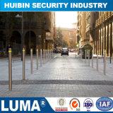 Poteau d'amarrage hydraulique d'éclairage d'acier inoxydable pour la chaussée de garantie/stationnement/sûreté