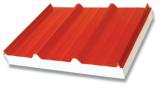 Gewölbtes Stahlblech für Dach-und Wand