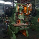 Perfuração profunda do ferro de ângulo da imprensa de potência da máquina do perfurador do metal de folha da garganta J23