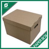 カートンボックス包装ボックスによって波形を付けられる荷箱をリサイクルしなさい
