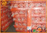 Cerca 100% plástica alaranjada Anti-UV da barreira do controle de multidão do HDPE do Virgin