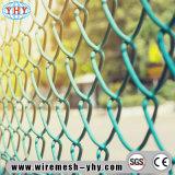 를 위해 사용된 PVC에 의하여 입힌 옥외 운동장 담은 그물을 보호한다
