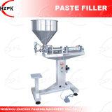 Cabeça única vertical Cole Bocal/Colar máquina de enchimento da China