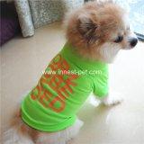 Pet Suppy barata Doggie Tshirt algodón ropa perro, perro producto