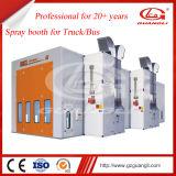 高品質のセリウムの3D移動可能な上昇オプションの公認の大型のトラックのスプレー・ブース