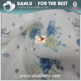 Tejido de gasa con reborde de la fábrica de China la Impresión Digital sobre Tela Tela vestido floral