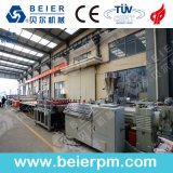 WPC junta de espuma de PVC espuma plástica de la máquina de extrusión de la chapa de la línea de producción