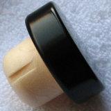 포도주 마개 합성 코르크 알루미늄 관 모자