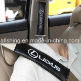 Le carbone de ceinture de sécurité de logo de véhicule couvre des garnitures d'épaule pour Buick