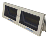 アルミニウムアルミニウムスクリーンが付いている隣り合わせの二重日除けのWindows