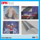 Digital Film Vinyle perforé un moyen de la vision de l'impression