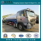 Alumínio do caminhão de tanque 25000L do petróleo de Sinotruk HOWO-T5g 8X4